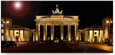 Leinwand auf Keilrahmen BRANDENBURGER TOR Weber Bild Berlin Fotografie Artprint