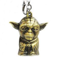 Star Wars Yoda Keyring Key Chain Metal Bronze Effect Great Gift 4 Star Wars Fans