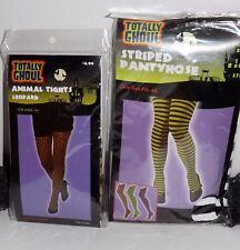 Ladies Tights Halloween Costume Hosiery ~ U Choose Color Size