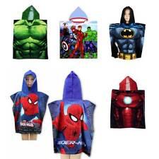 Disney Marvel Character Hooded Towel Poncho Bath Beach Pool Kids Boys Girls