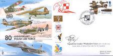 CC56e WWII WW2 Polish Battle of Britain RAF cover signed polish 302 pilot GNYS