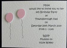 Buy handmade birthday invitations in cards stationery for 10 handmade personalised birthday invitations girlboy 1st 2nd 3rd 4th 5th 6th filmwisefo