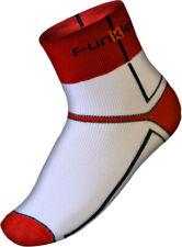 NEW Warm Winter Cycling Socks - Bike Socks - Funkier - White and Red