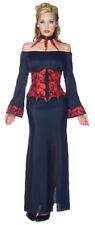 ADULTS WOMENS VAMPIRE IMMORTAL SEXY HALLOWEEN FANCY DRESS COSTUME - 4 SIZES