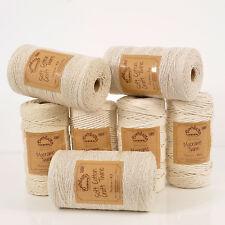 Qualité fabrication britannique 'everlasto' Coton Naturel Ficelle à Cordes 1mm