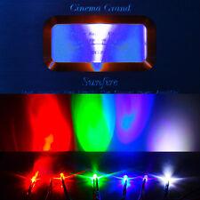 5mm LED Lights 9V 12V Pre Wired Light Emitting Diode Lamp White Red Blue (10pcs)