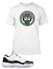 "863ecb2a18215f Tee Shirt to Match AIR JORDAN 11 LOW ""EMERALD"" Shoe Mens Graphic Pro Club"
