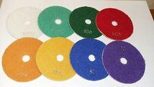 "30 Grit Wet/Dry 4"" pollici 100 mm Diamond i cuscinetti di lucidatura Qualità Professionale"