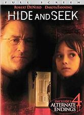 Hide and Seek (Full Screen Edition) DVD, Robert De Niro, Dakota Fanning, Famke J