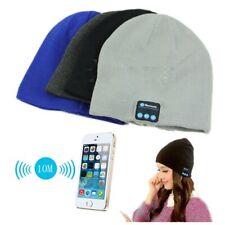AU Women Men Bluetooth Smart Cap Winter Warm Hat Headphone Headset Speaker Mic