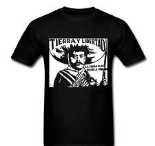 EZLN Zapatista Star Zapata Tierra Y Libertad War Liberty T-shirt Tee