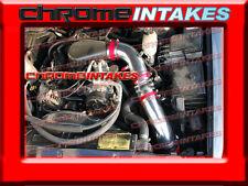 """96 97 98 99 00-05 CHEVY S10/BLAZER/SONOMA/JIMMY 4.3L V6 COLD AIR INTAKE 3.5"""" RED"""