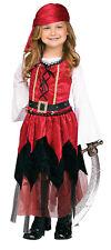 Pirate Princess Girls Toddler Buccaneer Halloween Costume