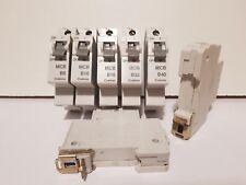CRABTREE STARBREAKER MCB CIRCUIT BREAKERS 6 10 16 32 40A PLUG IN TYPE VERSION 1