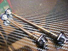 Halo Hex Key Wheel Skewers (Pair) NEW! (Black) not QR