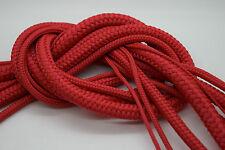 Cuerda trenzada de Poly Rojo Polipropileno Cuerda De Vela Canotaje Escalada Camping