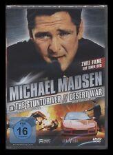 DVD THE STUNTDRIVER + DESERT WAR - MICHAEL MADSEN - 2 ACTION-FILME *** NEU ***