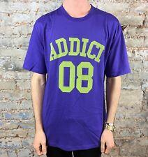 Addict College 08 Tee T-shirt Nouveau Taille: S, M, L-Noir