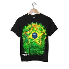 Zoonamo Brasilien Classic T-Shirt Schwarz Sommer Shirt Black
