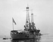 USS Alabama BB-8 Illinois-class battleship Photo Print