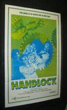Tri Fold SHAOLIN HANDLOCK Martial Arts SHAW BROTHERS