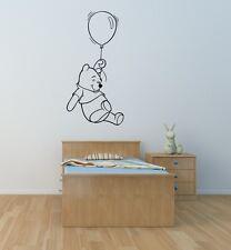 Winnie the Pooh wall art sticker children bedroom  playroom nursery toyroom