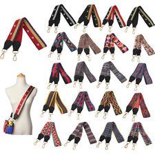 DIY National Wide Floral Crossbody Long Belt Straps Swivel Hook for Bags Handbag