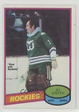 1980-81 O-Pee-Chee #252 Al Smith Hartford Whalers Colorado Rockies Hockey Card