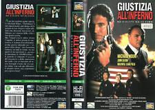 GIUSTIZIA ALL'INFERNO (1992) VHS