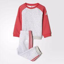 Adidas Infantil Chicas Sports Crew Jogger Chándal Completo Niños Niños Set Completo