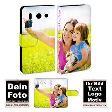 Huawei G510 Handy Tasche Hülle eigenes Foto Bild Druck Schutzhülle Etui Photo
