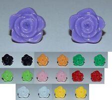 Resin Flower Stud Earrings - Buy 1 Get 1 Free - NEW (Style 5)
