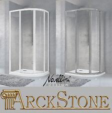 ARCKSTONE Box Cabina Doccia Vetro Temperato Semicircolare Tondo Novellini Star R