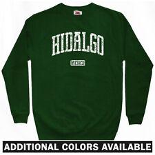 Hidalgo Mexico Sweatshirt Crewneck - Benito Juarez Mexican Raza MX - Men S-3XL