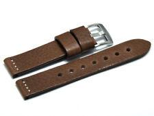 Uhrenarmband - Ranger - massives Leder - dunkelbraun 18, 20, 22, 24 mm NEU