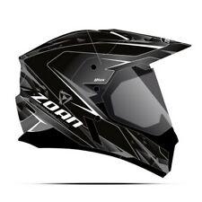Zoan Synchrony Hawk Dual Pane Shield Snow Helmet Silver