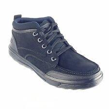 Skechers, Men's Skech Air-Porter-Repton Lace Up Casual Shoes Black 64741