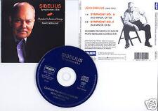 "SIBELIUS ""Symphonies 6 et 4"" (CD) Paavo Berglund 1996"