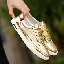 Nuevo Moda Brillante con Cordones Zapatillas para hombre y Mujer Unisex en Gran Caja De Zapato