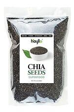6 LBS PURE PREMIUM BLACK CHIA SEEDS VEGAN GLUTEN-FREE NON GMO 1-3 day Delivery !