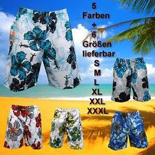 Costumi da bagno Short Shorts Bermuda Costume Pantaloncini Da Bagno Bianca Blu in S M L XL XXL XXXL 3xl