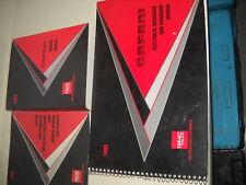 1993 GMC SAFARI VAN Service Repair Shop Manual SET FACTORY W EWD + SUPPLEMENT