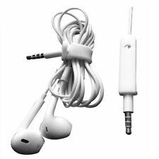 Auriculares Intrauditivos Con Cable Casco Blanco Negro pá Teléfonos Inteligentes