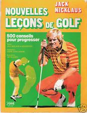 JACK NICKLAUS : NOUVELLES LECONS DE GOLF _ SOLAR 1987