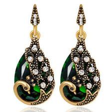 Amazing Peacock Vintage Style Bronze Drop Women Jewellery Earring Hook 1331