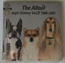 The Alfee-Single History Vol. 5 1996-2001 + 4 bonus GIAPPONE SHM MINI LP 2cd NUOVO