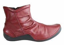 Orizonte Cidar Womens European Comfortable Soft Leather Ankle Boots - SSA