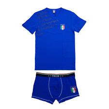 Completo intimo Italia Figc Abbigliamento Estivo Ufficiale Calcio R03276
