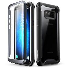 i-Blason Galaxy S8+ PLUS full-body Rugged Clear Bumper Case w/ Built-in Screen P