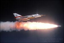 Poster, Many Sizes; F-106 Delta Dart Firing Genie Missile